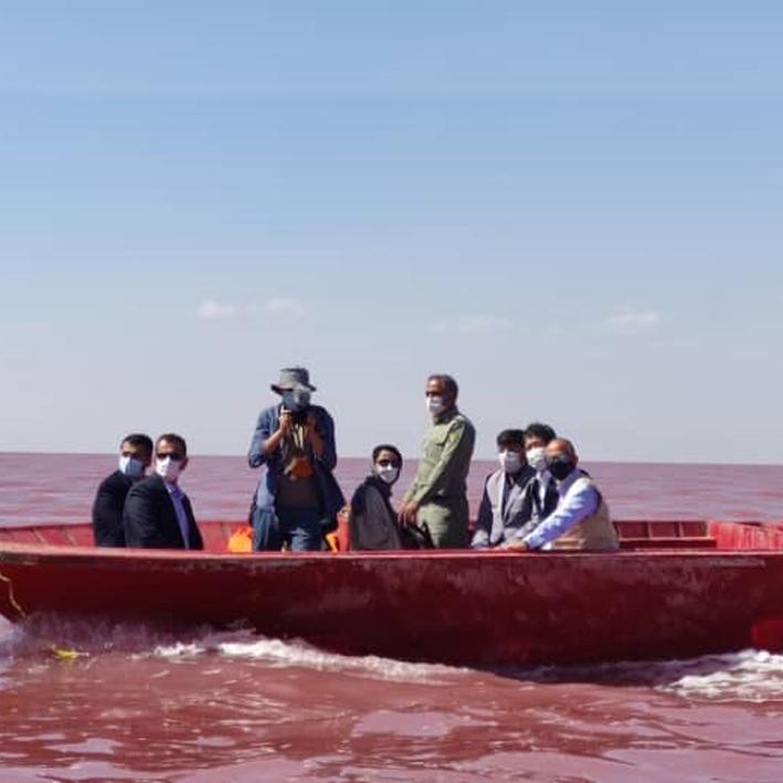 Japanese Ambassador visits Lake Urmia Basin
